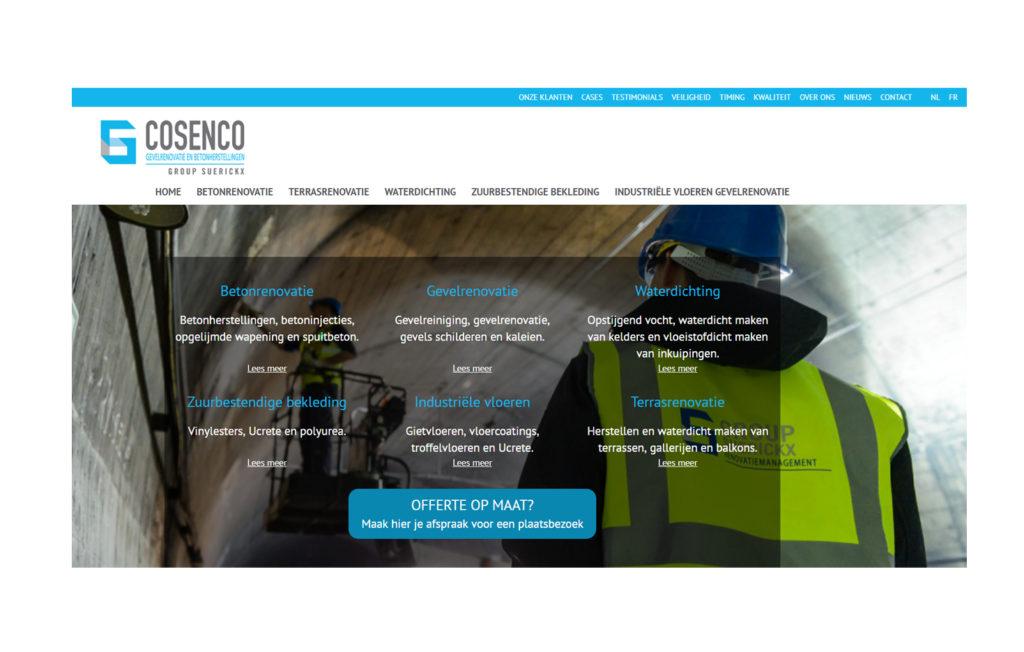 Cosenco Homepagina Group Suerickx