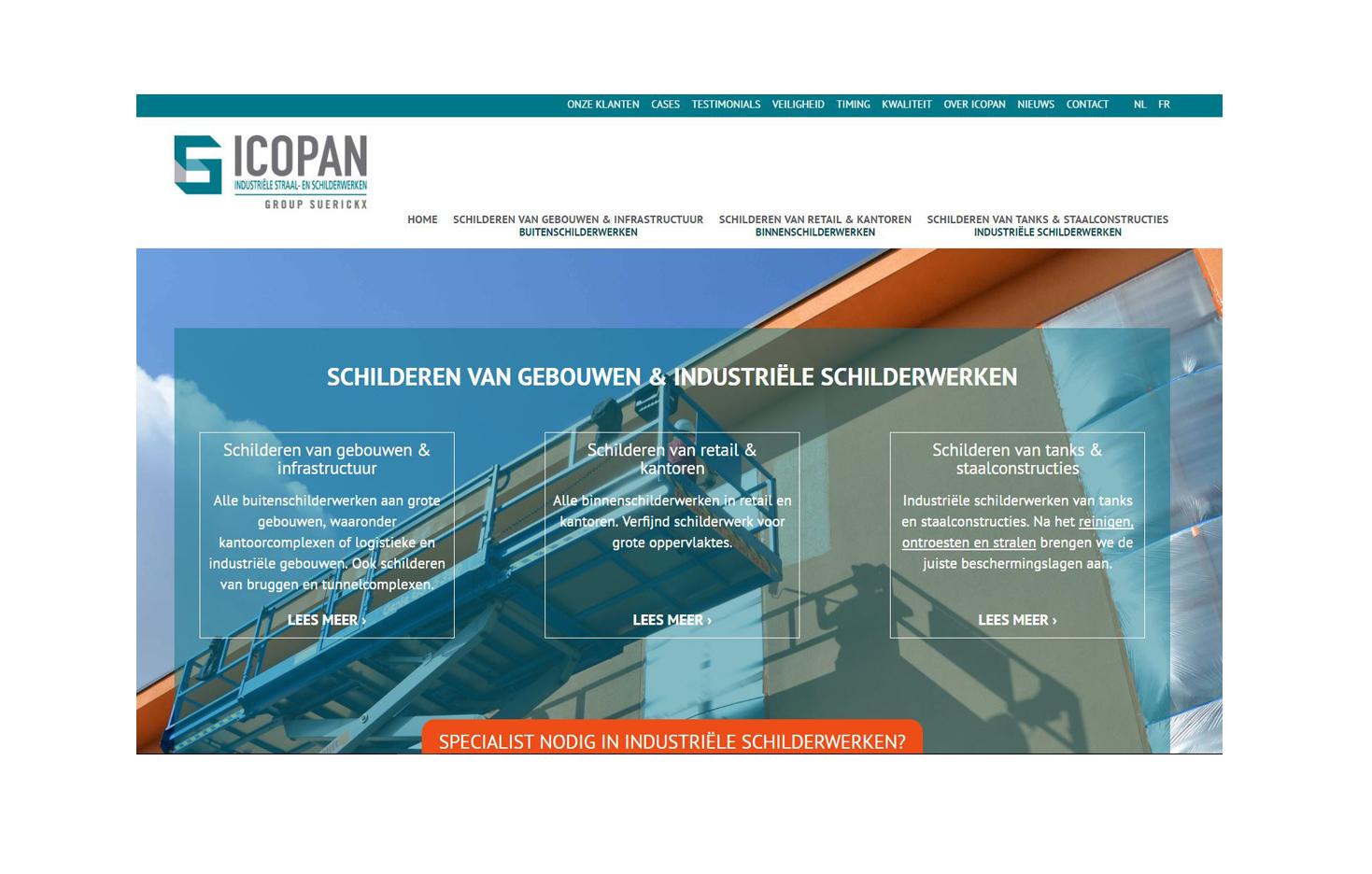 Icopan Homepagina Group Suerickx