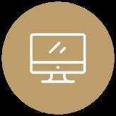 Icoon desktop scherm