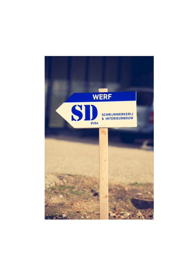 SD Schrijnwerkerij pijl
