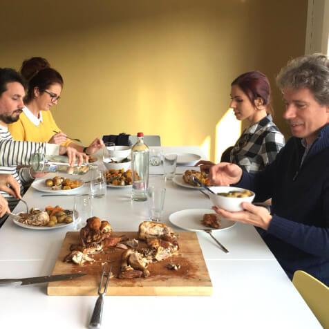 Thanksgiving lunch van de maand