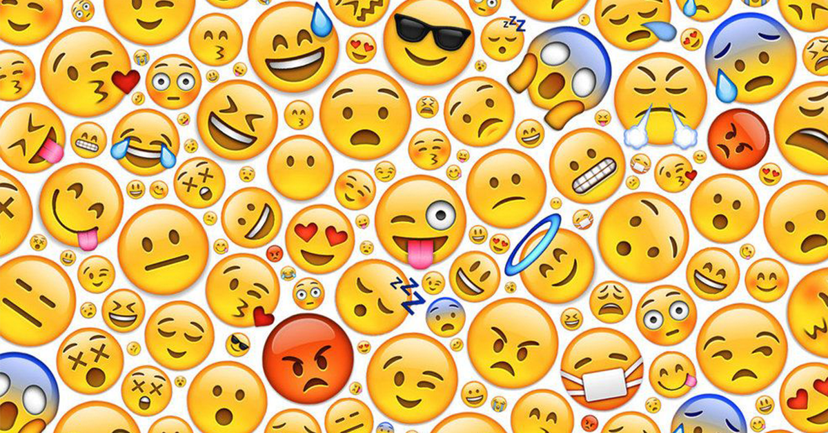 Social media advertising with emojis