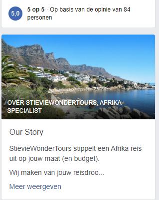 Review Facebook voorbeeld