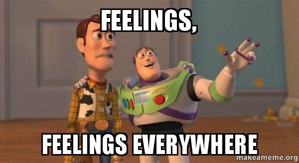 feelings everywhere
