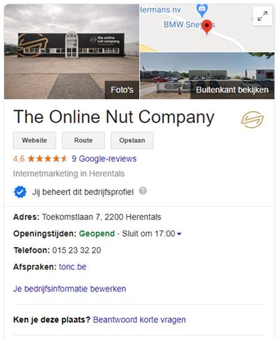 Google Mijn Bedrijf pagina optimaliseren