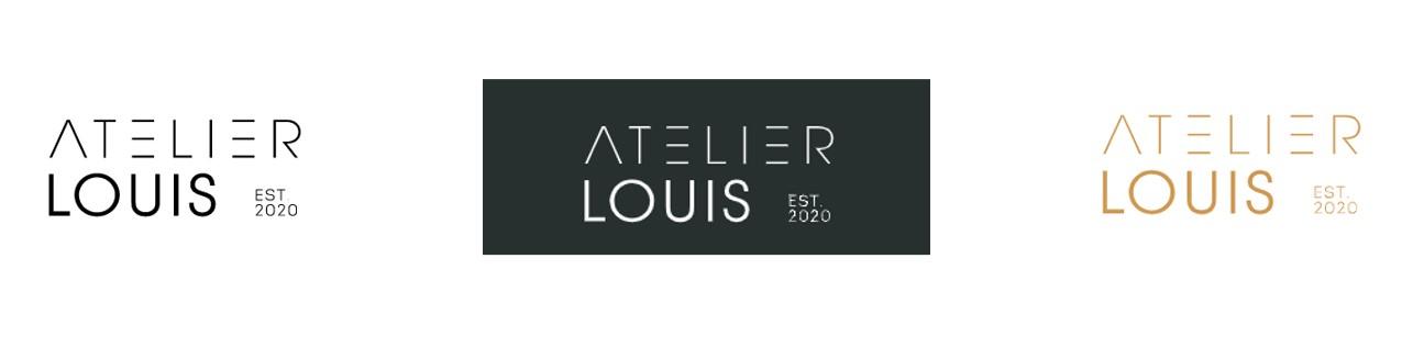 Logo Atelier Louis, multi-inzetbaar
